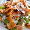 Guess Where I'm Eating this Fattoush and Win a Gift Certificate to Taqueria la Pasadita [Updated with Winner]!