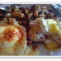 UPDATED: Guess Where I'm Eating Eggs Benedict and Win $25 to Fork & Stix