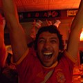 World Cuppage: Spain 1 - Germany 0; Alegría Roja at Guido's Pizzeria and Tapas