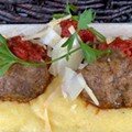 Steve Komorek of Trattoria Marcella: Recipe for Meatballs With Creamy Polenta