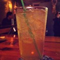 Guess Where I'm Drinking Cinnamon Whiskey, Ginger Beer and Apple Liqueur Cocktails and Win $10 to De Palm Tree!