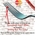 Dine Out For Life and Help Fight AIDS [GIVEAWAY]