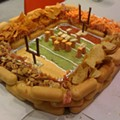 Super Bowl Snack Idea: The Snack-Food Stadium