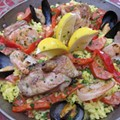 David Molina's Paella Valencia Recipe