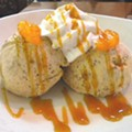 Try the Brown Bread Ice Cream at Tigin Irish Pub