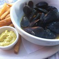 Guess Where I'm Eating These Mussels and Frites and Win $10 to La Tropicana Market & Cafe [Updated]!