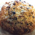 Guess Where I'm Eating this Scone and Win a $10 Gift Certificate to La Tejana Taqueria! [Updated With Winner!]