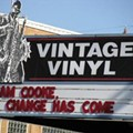 Photo: Vintage Vinyl's Post-Election Marquee