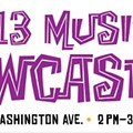The 2013 RFT Music Showcase Schedule