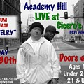 Class is In Session: Nite Owl, James Christos and DJ Sno Debut Academy Hill Tonight @ Cicero's