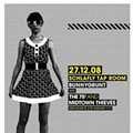 Show Flyer: Bunnygrunt, the 75s and the Midtown Thieves at the Schlafly Tap Room, Saturday, December 27