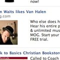 Tom Waits a Van Halen Fan? Facebook, I Call Bullsh*t.