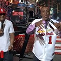 "Arsenio Hall Performing ""Country Grammar"" in an Ozzie Smith Uniform: But Where's the Backflip?"