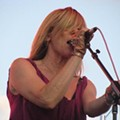 Photos + Review + Setlist: Sonic Youth and Awesome Color Under the Arch, Live on the Levee, Friday, July 17