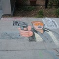 Local Illustrator Takes Aim At Chuck Berry With Lebowski-Inspired Get Your Chalk On Piece