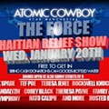 Update! Local Haiti Benefit Shows Set for Atomic Cowboy, The Sheldon