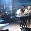 Kristeen Young Performs With Dave Grohl and Pat Smear on <i>Late Late Show</i>