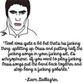 An Illustrated Guide of Noel and Liam Gallagher Talking Shit About One Another