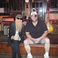 ZZ Top's Billy Gibbons Visits Beale on Broadway