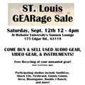 Tomorrow! St. Louis GEARage Sale