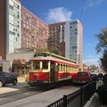 The Loop Trolley Just Hit <i>Another</i> Parked Vehicle