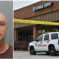 Catholic Supply Shooting Suspect Thomas Bruce Left Business Card at Mall