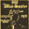 Tonight In Ear-Bleeding: Slang, Mind Eraser, Migraine and Ecoli at Fubar