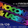 Tonight! SnoCones & Lasers Mega Monday Dance Party at the Firebird + New PhaseOne MP3!