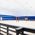 New Bridgeton Beach Volleyball Dome Lets You Live Your Tropical Fantasies This Winter