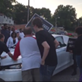 """Hit-and-Run Driver Targets """"Black Lives Matter"""" Protest in Ferguson (VIDEO)"""