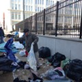 City Clears Blankets, Clothes from Downtown St. Louis Homeless Encampment