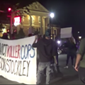 Driver Speeds Through 'Convict Stockley' Protest in Kirkwood