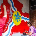Paint for Peace Brings Artistry to Broken Windows in the Loop