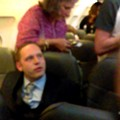 New Video Shows Drunk Passenger Losing His Shit After 'Playing His White Card'