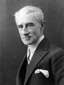 Bolero composer Maurice Ravel.