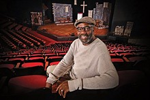 JAMES BYARD/WUSTL PHOTOS - Black Rep artistic director Ron Himes.