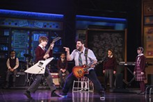 (C) MATTHEW MURPHY - That young man was born to rock.