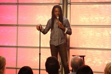 COURTESY FATHOM EVENTS - Julian Michael performs stand-up as part of Out on Stage.
