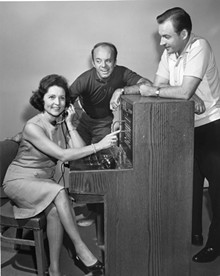 FERMAN PHOTOGRAPHY - That's Betty White at the switchboard in a 1968 Muny show.