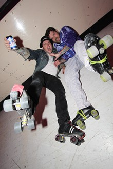 90210 Skate Party at Skatium