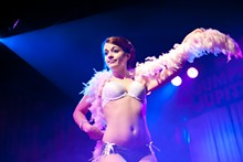 Speakeasy Cinema Burlesque at Jumpin' Jupiter