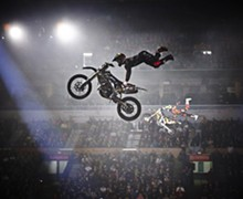 The Nuclear Cowboyz Get Extreme at the Scottrade Center
