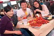 Crawfish Festival at Broadway Oyster Bar