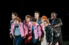 Behind the Scenes of 'Grease' at the Muny in Forest Park