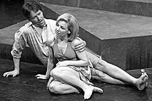 JOHN LAMB - Joshua Thomas and Michelle Hand in the Orange Girls' Eurydice.
