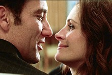 Clive Owen and Julia Roberts star in Tony Gilroy's Duplicity.