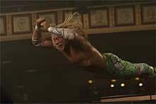 "Mickey Rourke as Randy ""The Ram"" Robinson in The Wrestler"