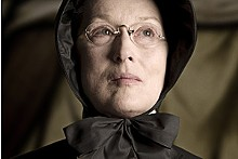 Meryl Streep as the doubting Thomasina.