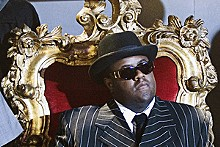 Life after death: Jamal Woolard stars as the Notorious B.I.G.
