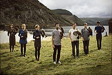JON BERGMAN - Los Campesinos!: Heads up, seven up!